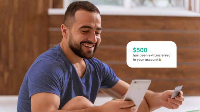 Instant e transfer loans Canada no credit check
